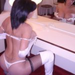 Hot Transexual Lingerie Model