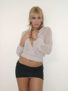 Transexual in miniskirt - Jackie's Gallery